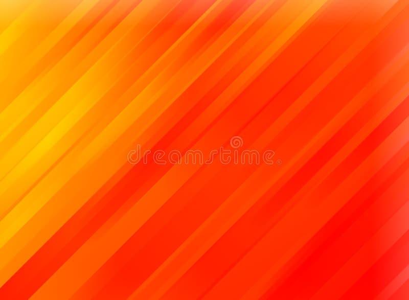 抽象红色行动对角条纹背景 向量例证