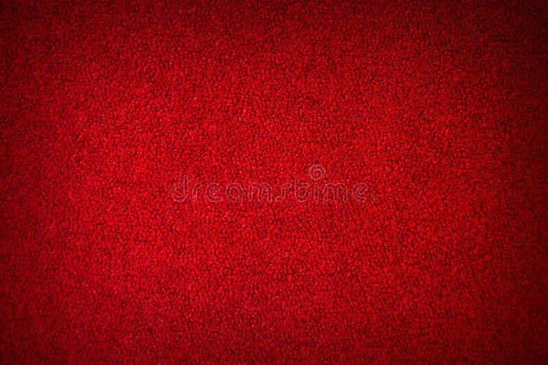 抽象红色织地不很细背景 免版税库存图片