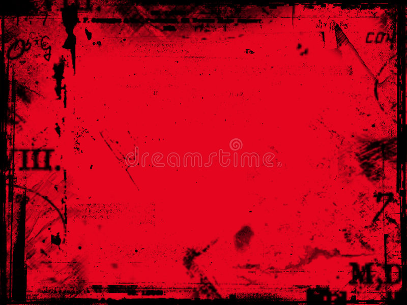 抽象红色 向量例证