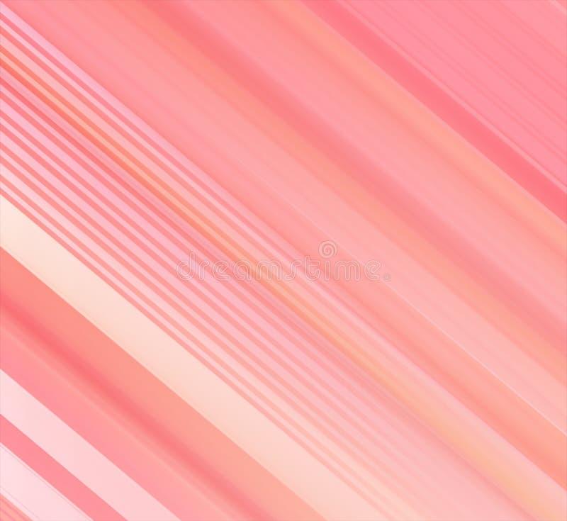 抽象红颜色线和条纹背景与梯度五颜六色的线和条纹样式 向量例证