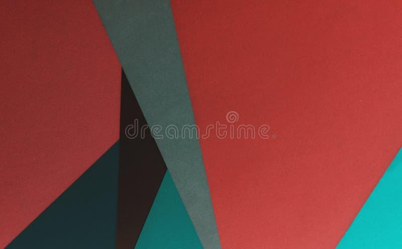 抽象纸艺术工艺背景 库存照片
