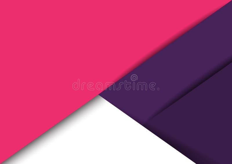 抽象纸裁减背景 向量例证