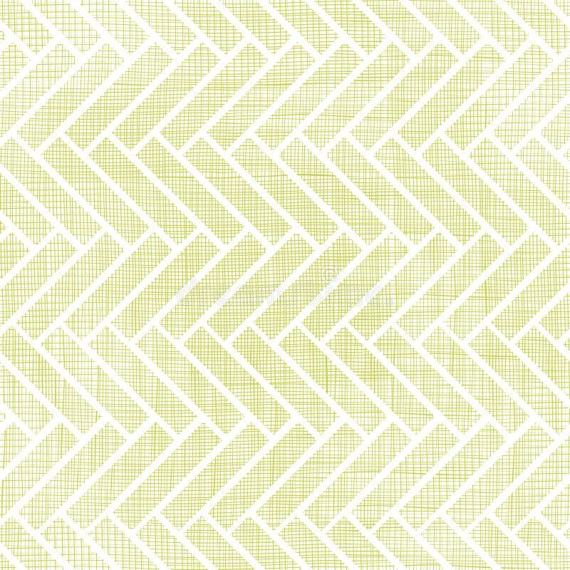 抽象纺织品木条地板无缝的样式 向量例证