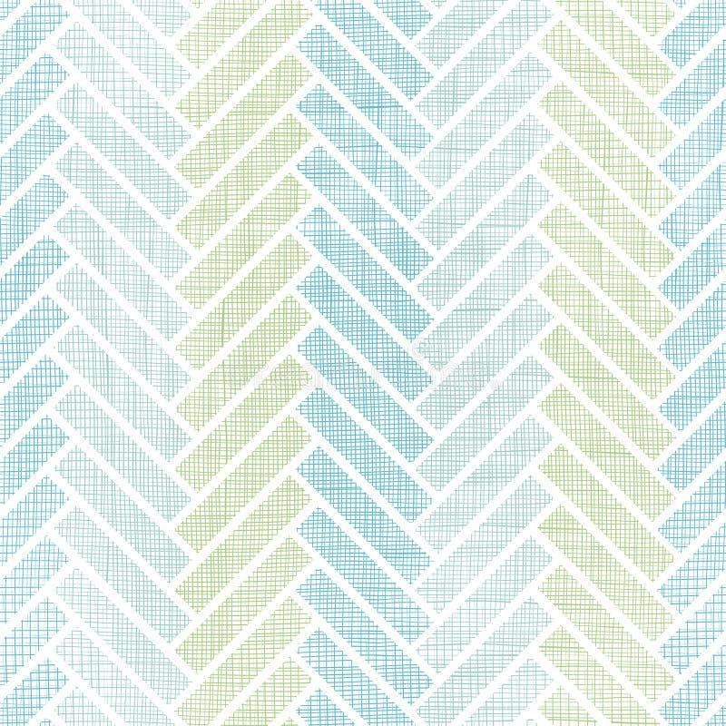 抽象纺织品镶边木条地板无缝的样式 皇族释放例证
