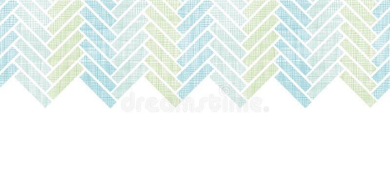 抽象纺织品镶边水平的木条地板 库存例证