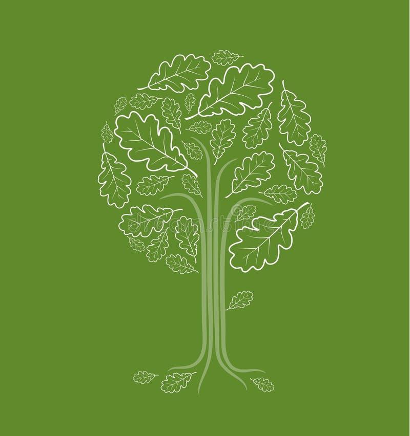 抽象结构树葡萄酒 皇族释放例证
