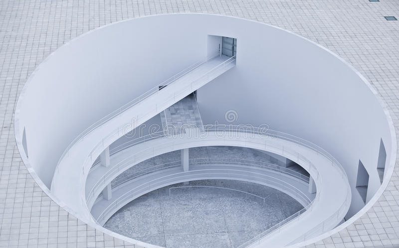 抽象结构螺旋 免版税图库摄影