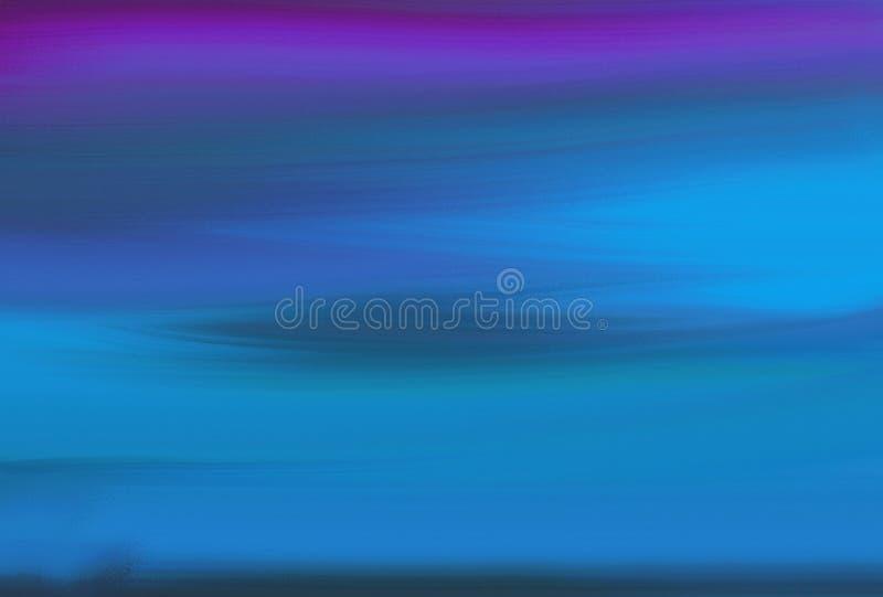 抽象绘制多色渐变图案 皇族释放例证