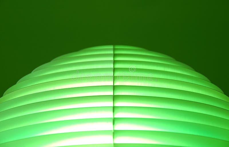 抽象绿线 免版税库存照片
