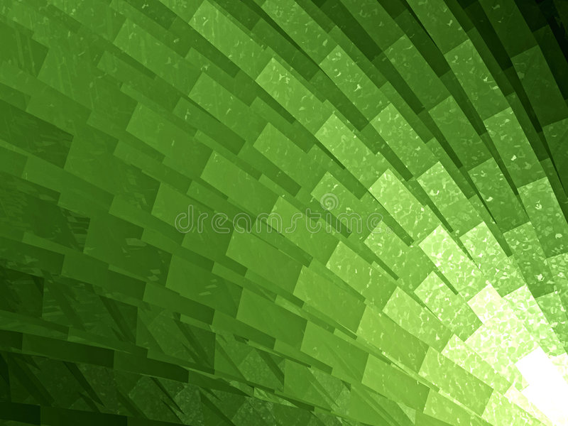 抽象绿色模式 库存例证