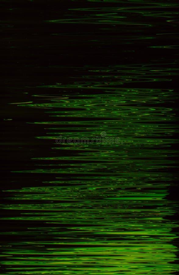 抽象绿色油漆背景水波纹 库存图片