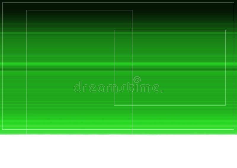 抽象绿色现代 免版税图库摄影