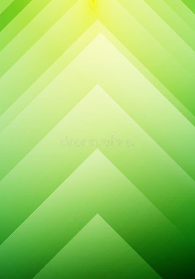 抽象绿色生态箭头方向概念背景 您能为小册子,leaftlet,飞行物,介绍,横幅网使用, 皇族释放例证