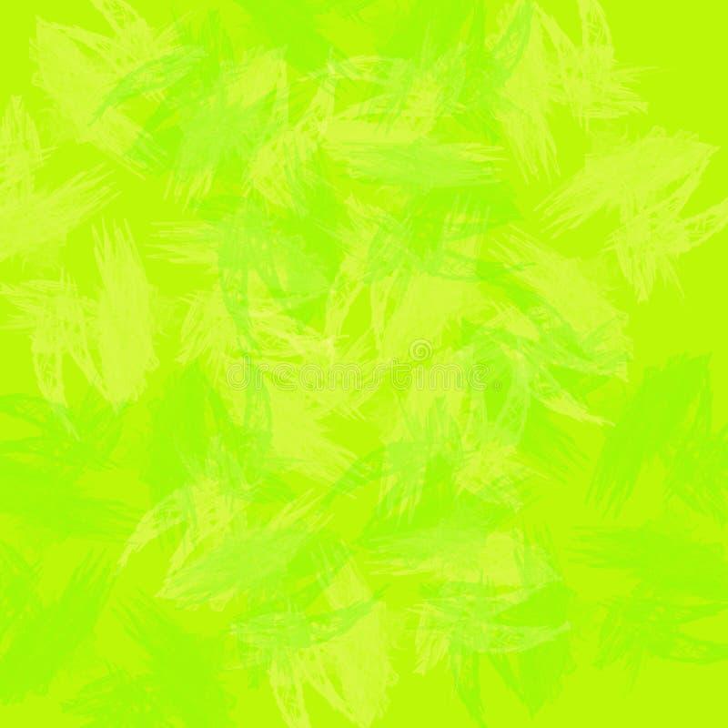 抽象绿色纹理 向量例证