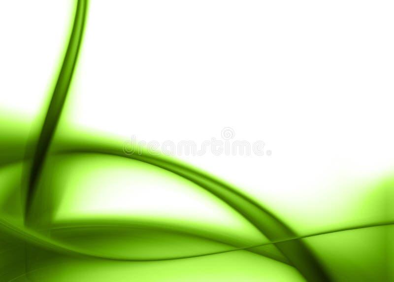 抽象绿色 向量例证