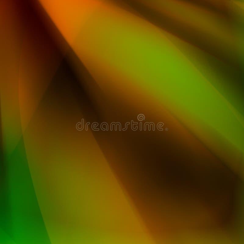 抽象绿色 皇族释放例证