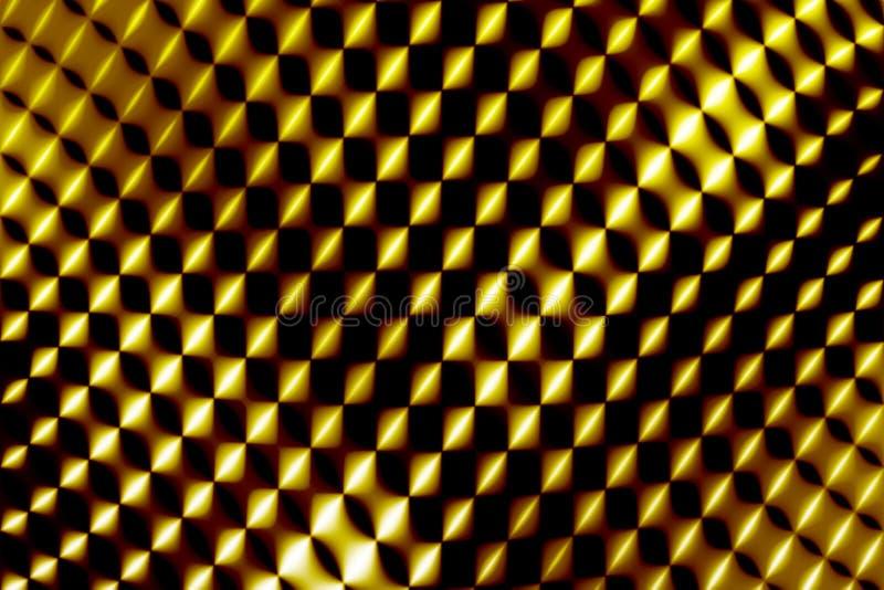 抽象网格黄色 免版税图库摄影