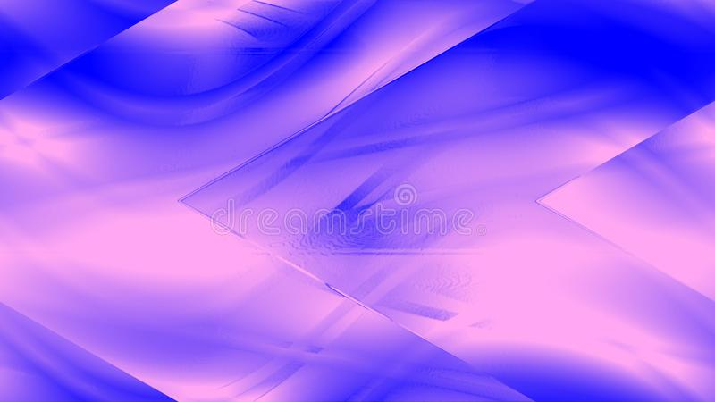 抽象美好的线背景 五颜六色的线墙纸 艺术品背景 向量例证