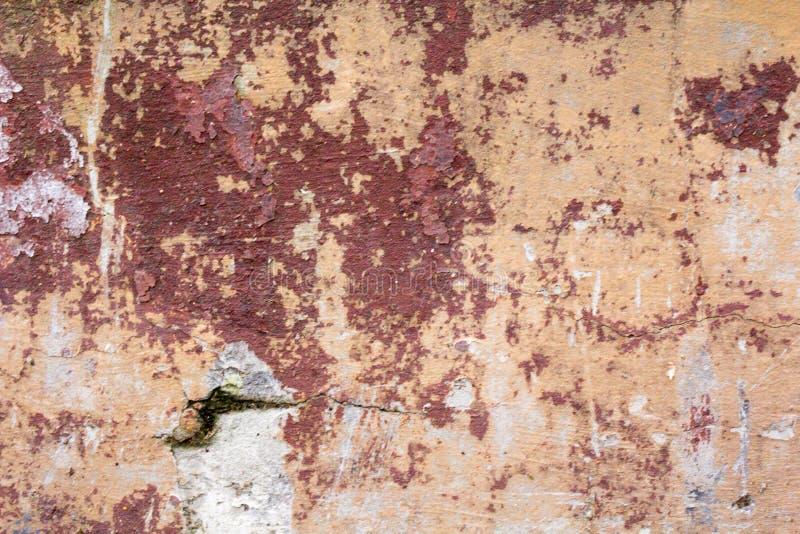 抽象老墙壁背景 难看的东西设计的混凝土墙纹理 免版税库存照片