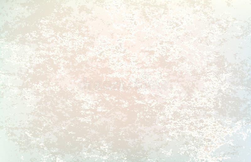 抽象老纸纹理传染媒介illu难看的东西灰色背景  皇族释放例证
