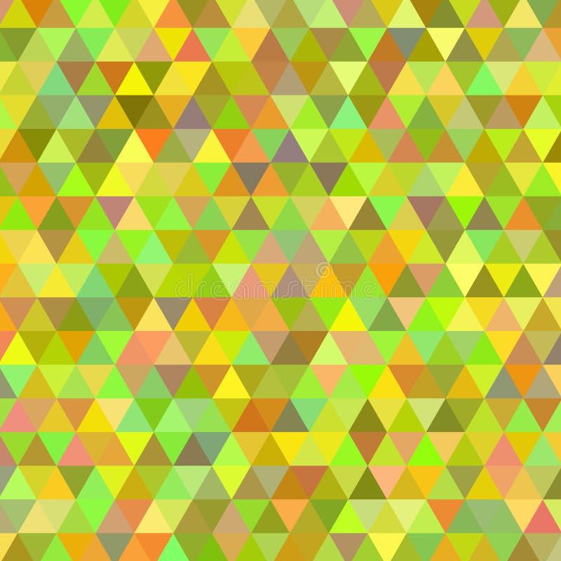 抽象背景三角 向量例证