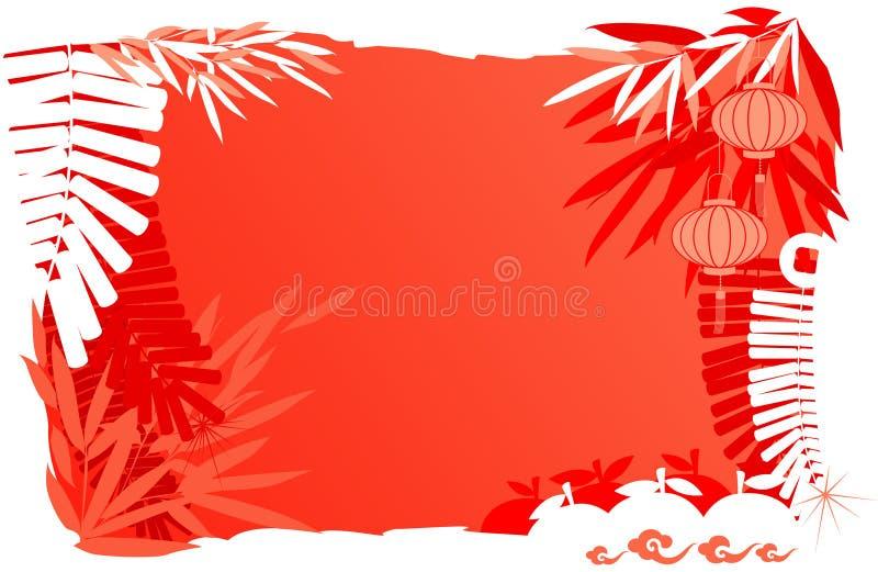 抽象背景中国日新年度 皇族释放例证