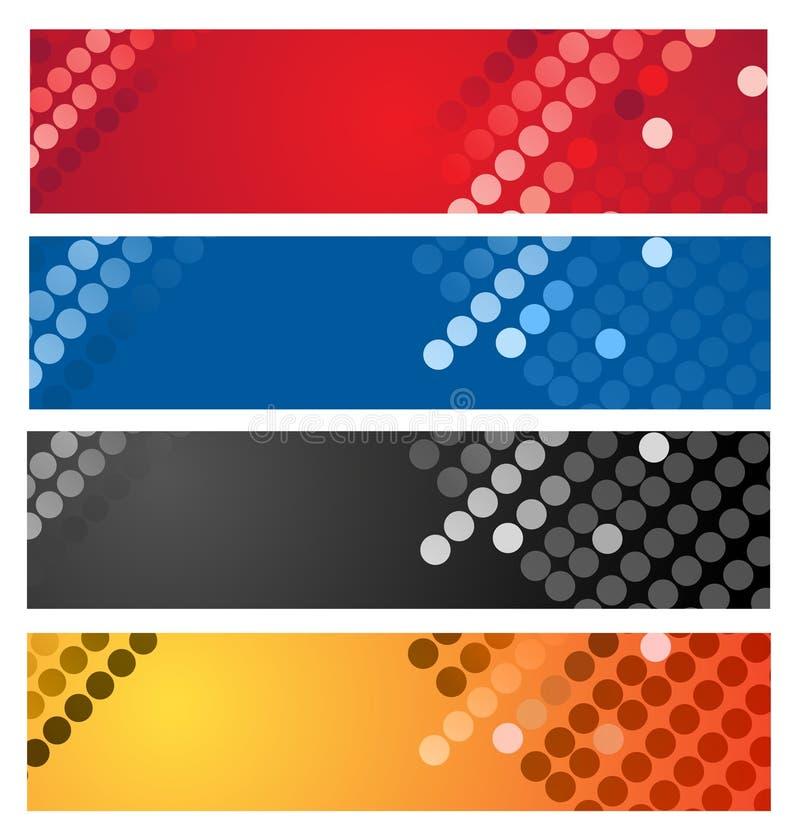 抽象背景五颜六色几何 皇族释放例证