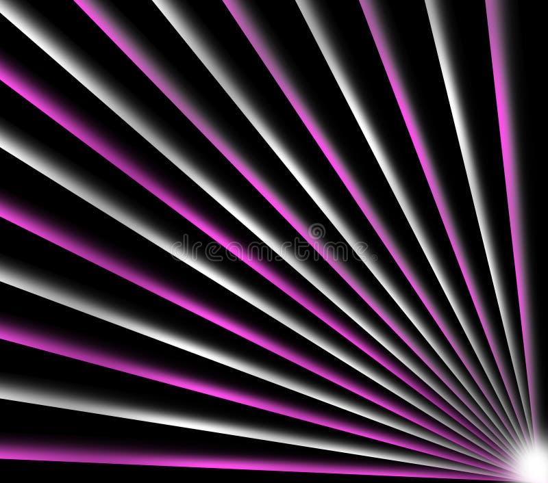 抽象背景五颜六色的光 皇族释放例证