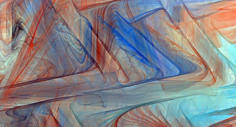 抽象背景五颜六色的分数维 库存照片