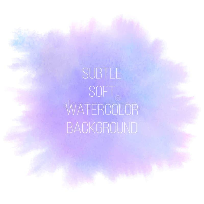 抽象背景五颜六色的向量 软绵绵桃红色、紫罗兰和蓝色 皇族释放例证