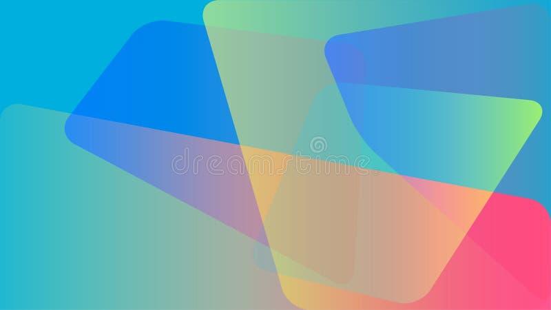 抽象背景五颜六色的向量 向量例证
