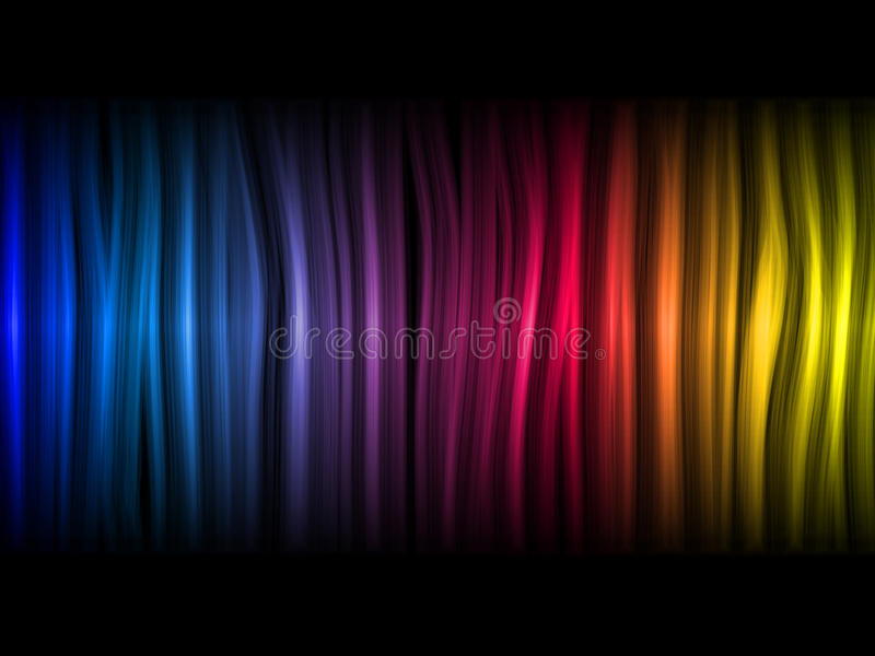 抽象背景五颜六色的通知 皇族释放例证
