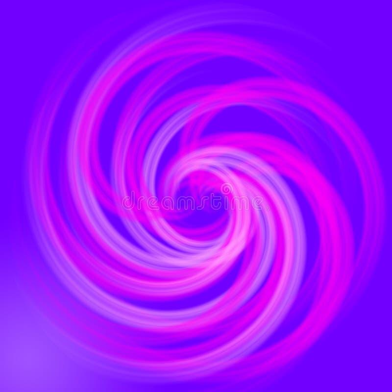 抽象背景作用光螺旋 皇族释放例证