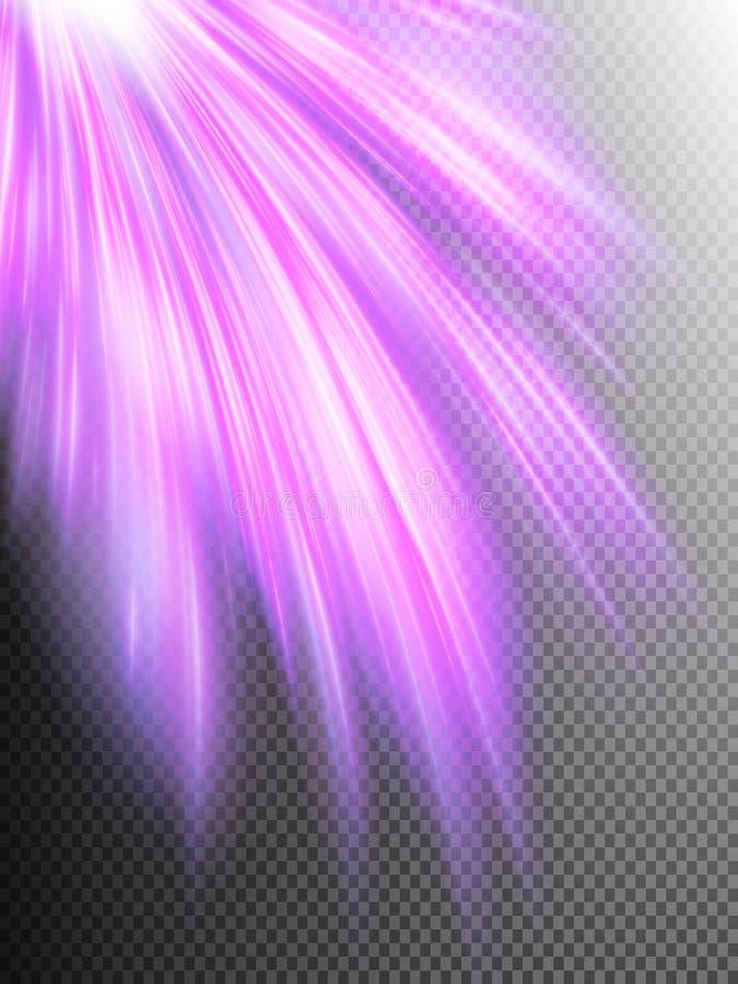抽象背景例证光魔术向量 10 eps 皇族释放例证