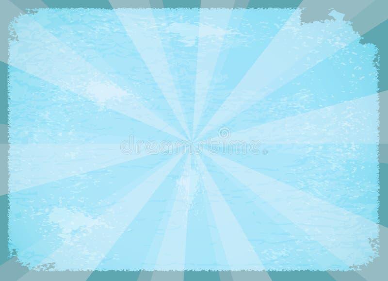 抽象背景光芒 向量例证