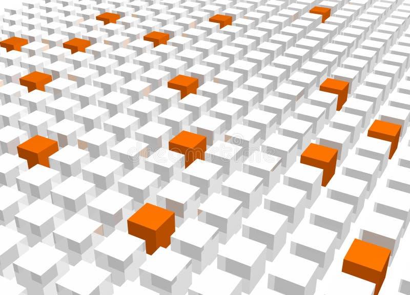 抽象背景冷静模式纹理 向量例证
