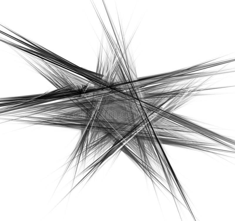 抽象背景分数维 库存例证