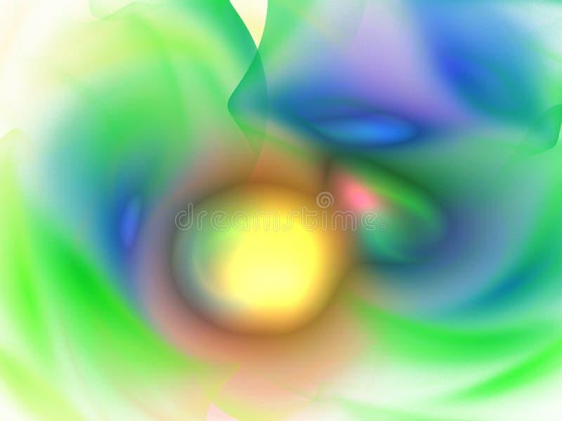 抽象背景分数维 向量例证