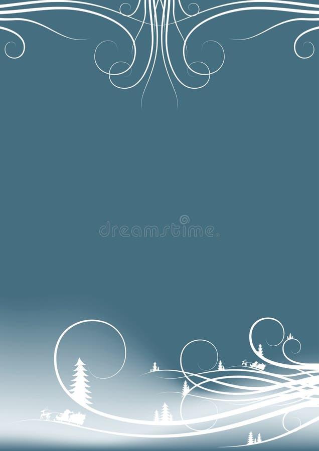 Download 抽象背景分类冷杉木圣诞老人现出轮&# 库存照片 - 图片: 1554030