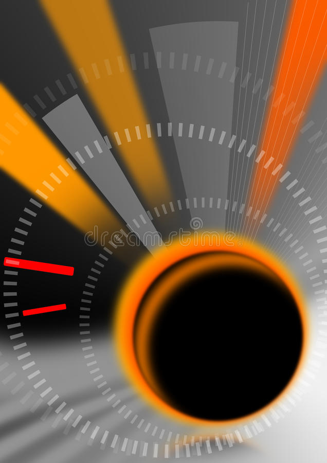 抽象背景反映时间 库存例证