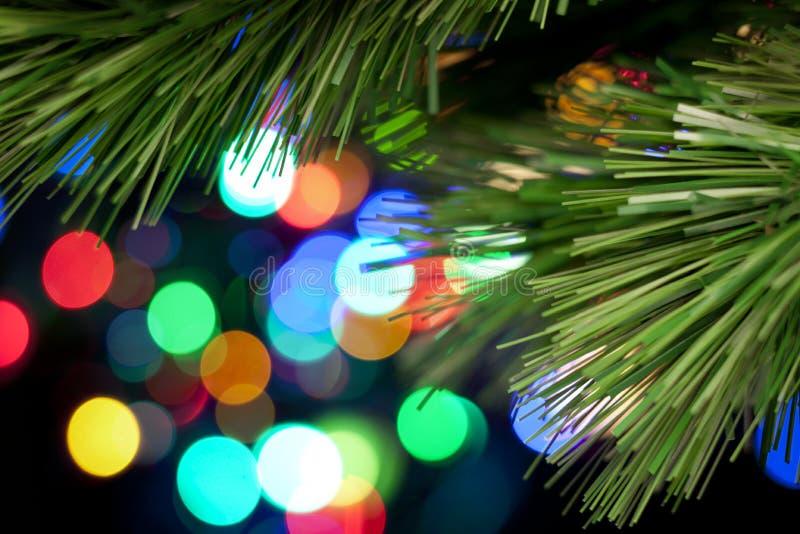 抽象背景圣诞树 免版税图库摄影