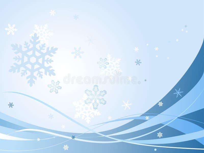 抽象背景圣诞节例证 皇族释放例证