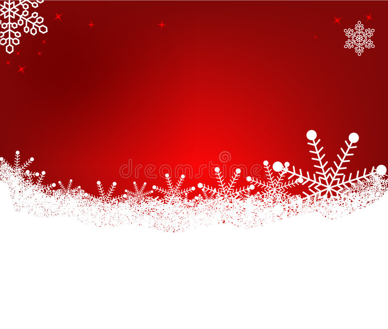 抽象背景圣诞节向量 库存例证