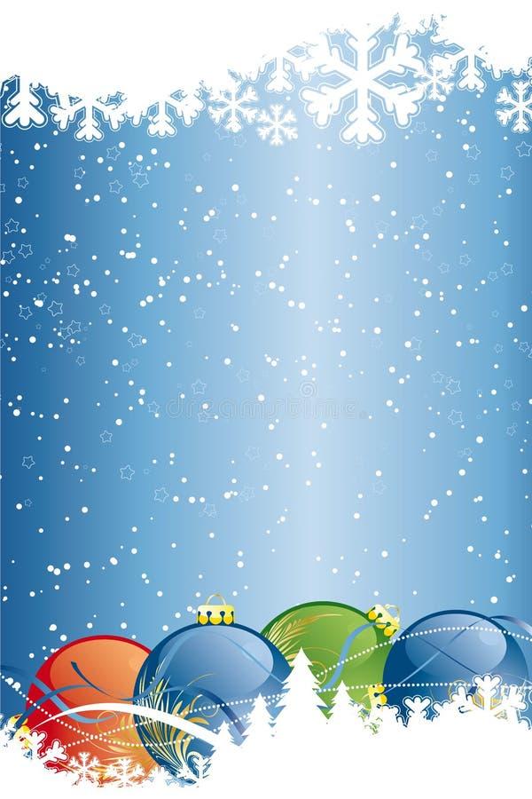 抽象背景圣诞节向量 皇族释放例证