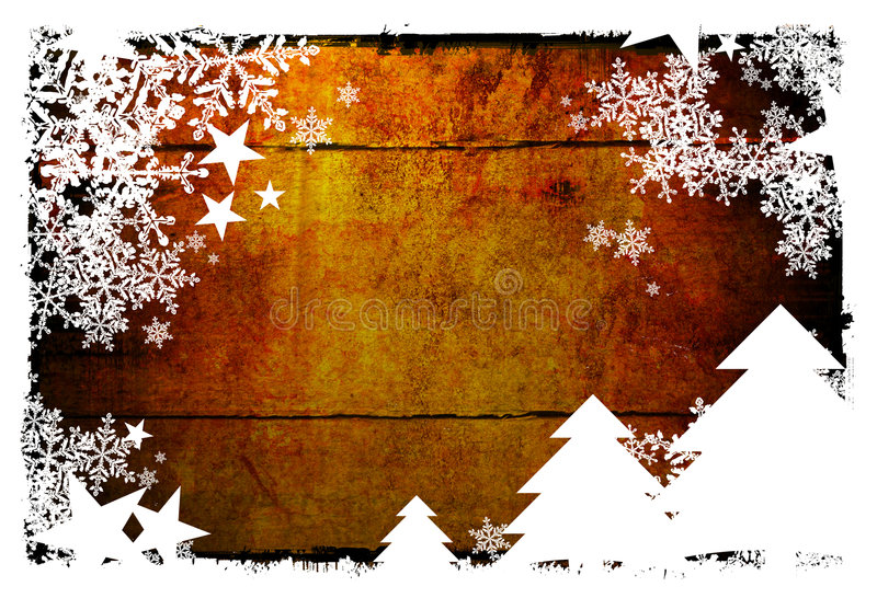 抽象背景圣诞节 皇族释放例证