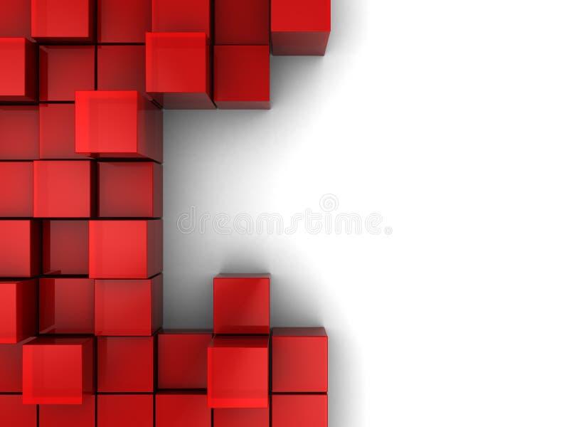 抽象背景块 库存例证