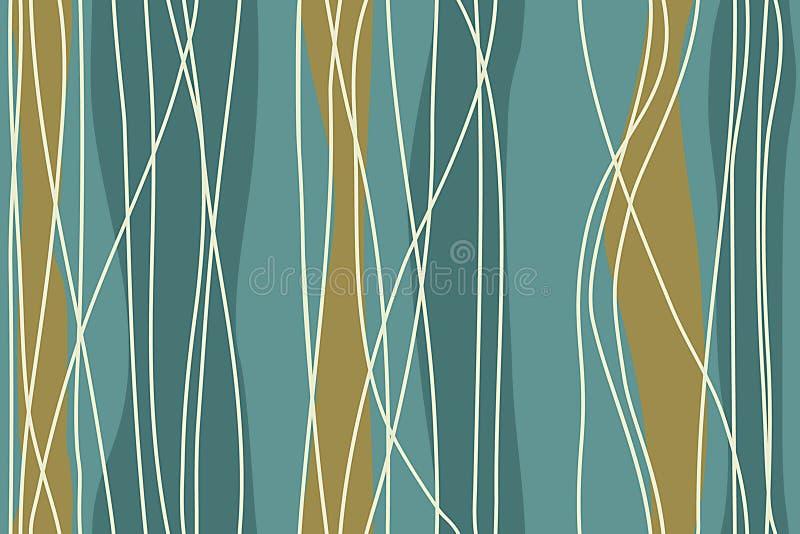 抽象背景墙纸 库存例证