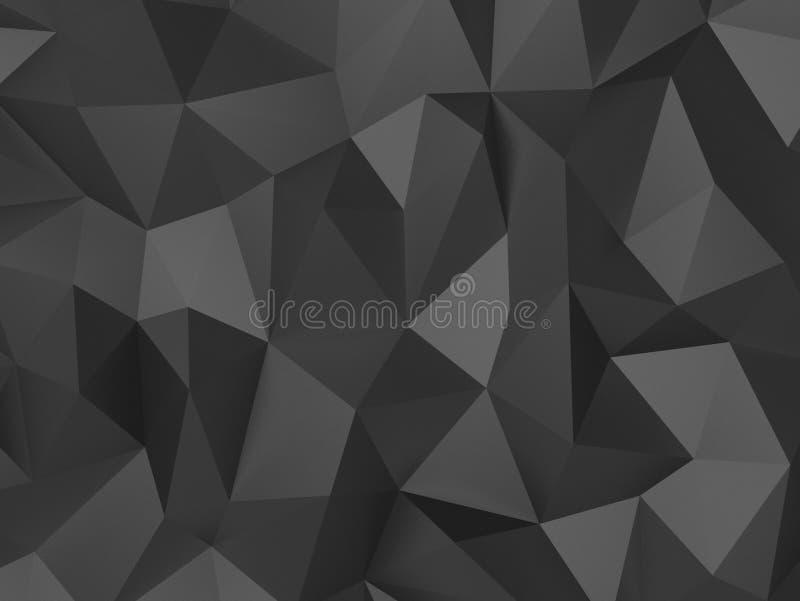 抽象背景多角形 免版税库存照片