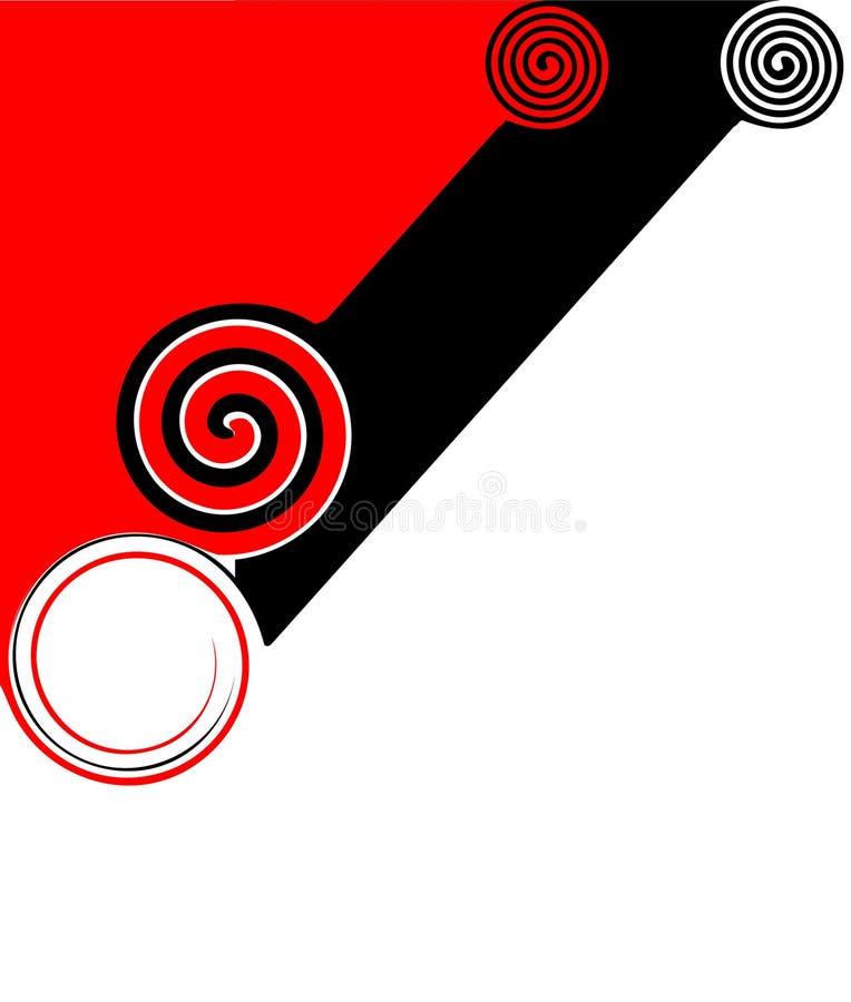 抽象背景对角线 库存例证