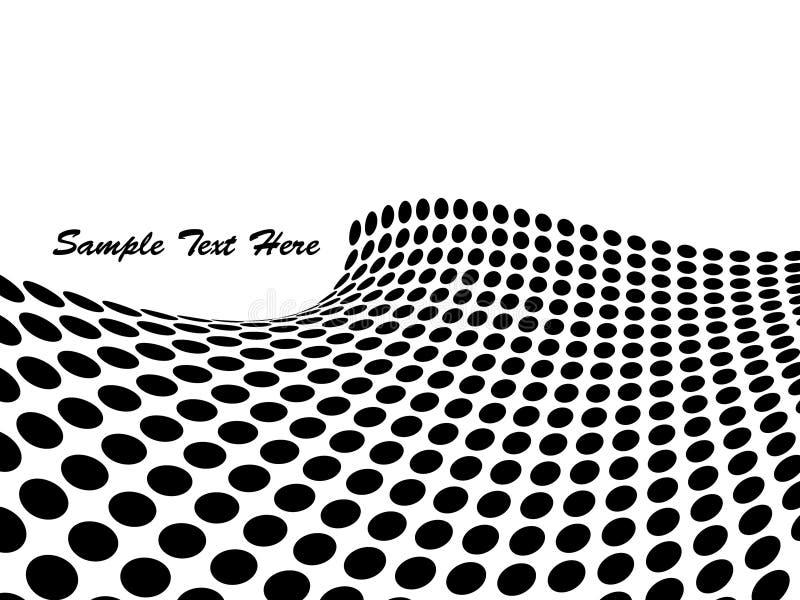抽象背景小点 向量例证